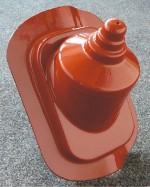 Anténní průchodka plastová - plechové krytiny